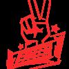 SLC280-Sticker-Peace-klein-rot