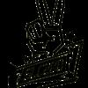 SLC280-Sticker-Peace-klein-schwarz