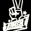 SLC280-Sticker-Peace-klein-weiß