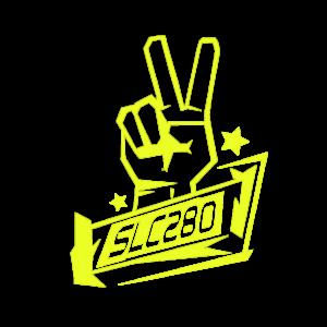 SLC280 – Aufkleber Peace (klein)